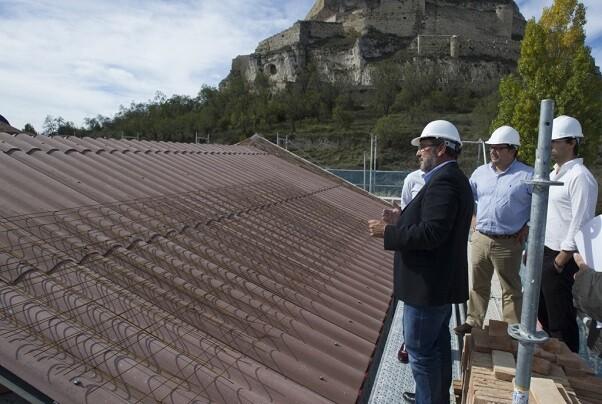 La Diputación avanza en la rehabilitación del Colomer Zurita como uno de los edificios más emblemáticos de Morella.