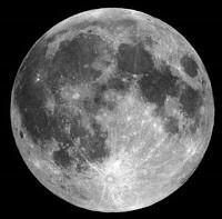 La Luna en una imagen reciente.