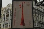 La campaña gráfica para difundir las Falas de este año distribuye los cuatro carteles por Valencia.