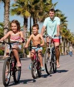 La cifra de pernoctaciones de turistas nacionales creció un 13 por ciento.