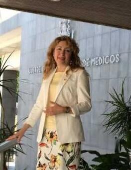 La doctora Mercedes Hurtado, presidneta de ICOMV.