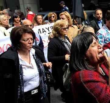 La huelga es una protesta contra la reforma de las pensiones que prepara el Gobierno.