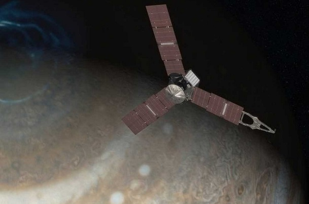 La nave Juno de la NASA bate el récord de distancia recorrida con energía solar.