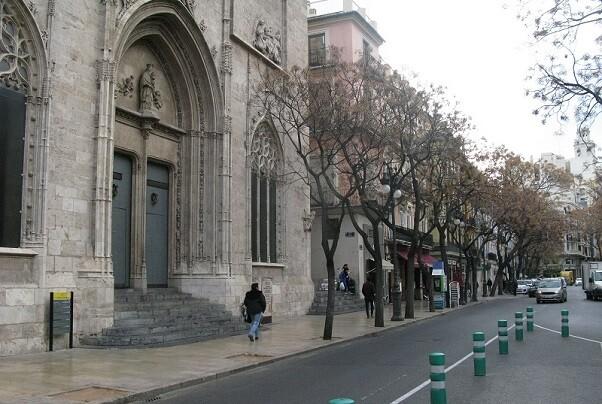 TRafico alrededor de la lonka, Calle maria cristina y mercado.