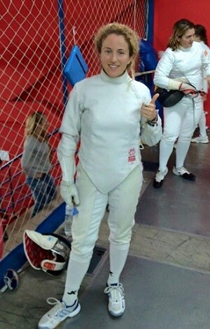 La tiradora senior Cristina Alonso.