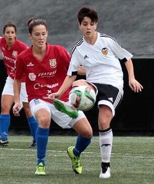 Las valencianistas encarrilaron el partido en el primer tiempo (2-0).