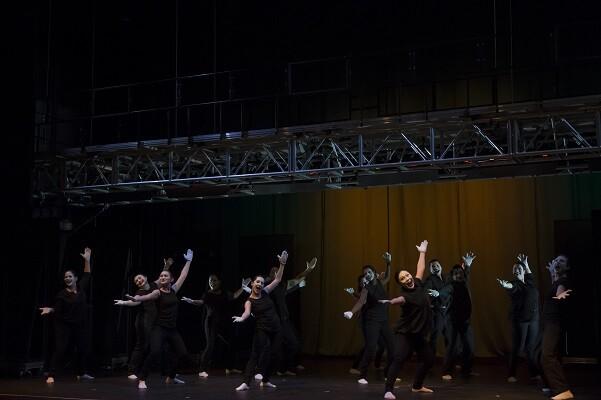 Los artistas del Centre Plácido Domingo presentan 'Qué son las nubes' en San Vicente del Raspeig.