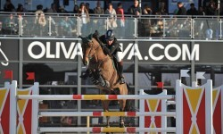 OLIVA NOVA, SPAIN - March, 10: International Show Jumping, Charles,Peter at CSI Mediterranean Equestrian Tour 2012 (Photo by Herve Bonnaud)