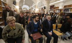 El President de la Generalitat, Ximo Puig, presenta el Plan de Fomento de la Lectura, junto con el conseller de Educación, Innovación, Cultura y Deporte, Vicent Marzà.