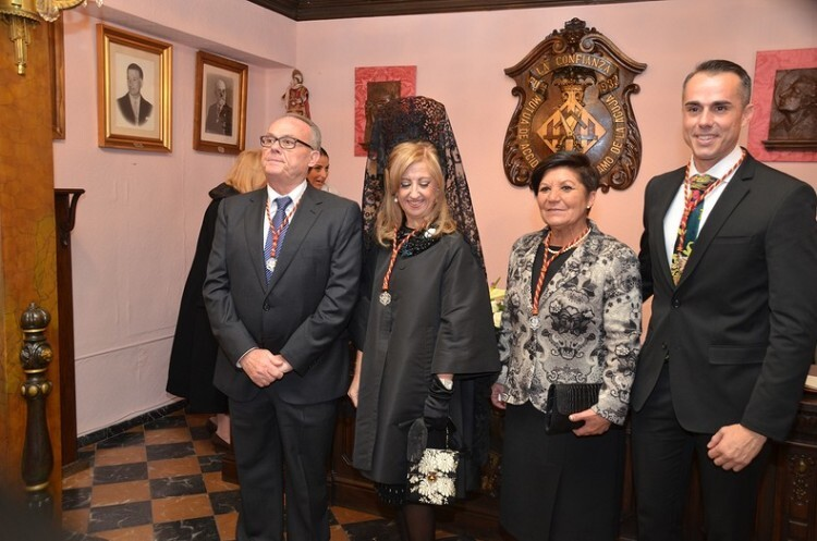 Manuel Camarasa, Mª Rosa Fenollar, Consuelo Isabel Pons Catalá y Raúl Mora.