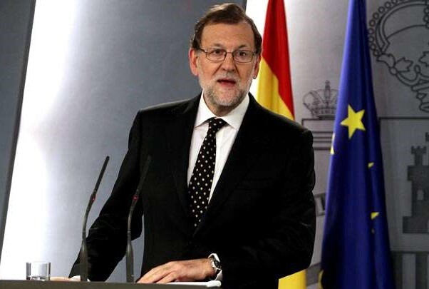 """Mariano Rajoy advierte que no dejará pasar """"ni una sola actuación que vaya contra la ley""""."""