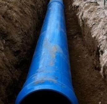Mejoras en las tuberias del agua.