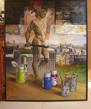 Obra de Mari Carmen López Olivares.