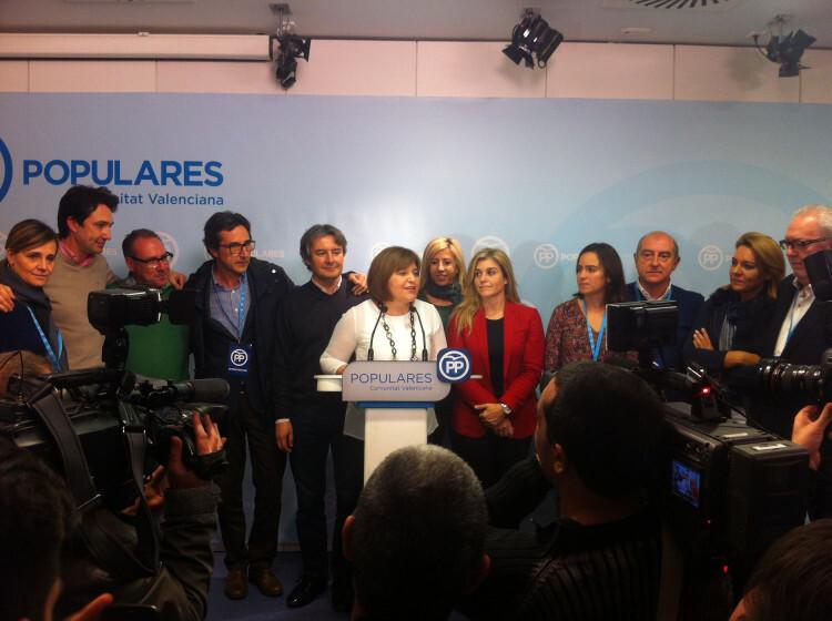 La presidenta del PP valencià, Isabel Bonig, en una imatge d'arxiu. / PPCV