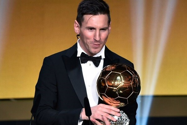 Quinto Balón de Oro para Lionel Messi.