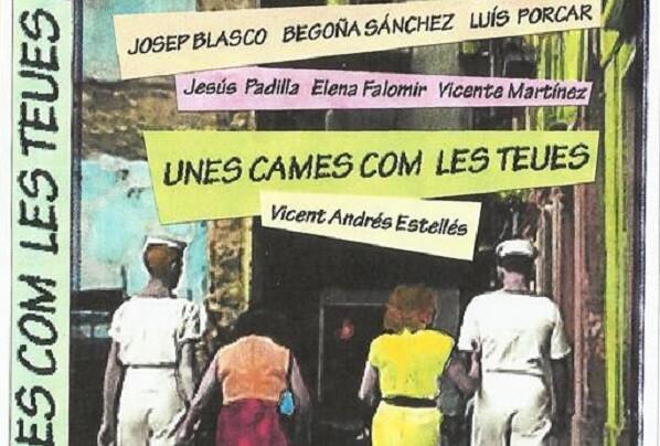 Rafael Gasent proyecta  'Unes cames com les teues' en la Sala SGAE de Valencia.
