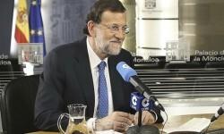 Rajoy afirma que 'es necesario respetar la voluntad de las urnas'.