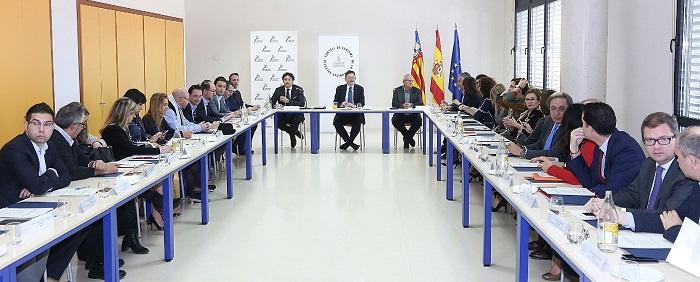 Reunión del Consejo de Turismo de la Comunitat Valenciana.