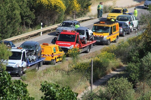Se reducen en un 11por ciento los accidentes de tráfico en carretera en la Comunitat durante 2015.