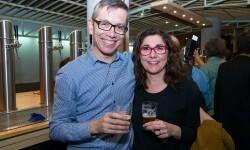 Steve Anderson y Anabel Navas