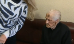 Una de las centenarias más ancianas de España  Telediario   RTVE.es A la Carta