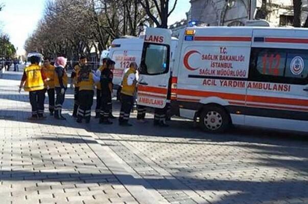 Una explosión en pleno centro turístico de Estambul deja por el momento 10 muertos.