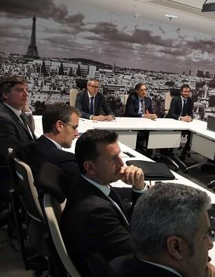 Una vez finalizado el Comité, sus integrantes realizaron una visita por las instalaciones de la OAMI.
