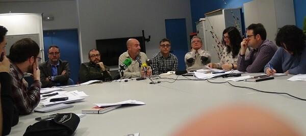 Xavier Rius durante la presentación ante los medios de comunicación. (Foto-J.Entraigües-Valencia Noticias).
