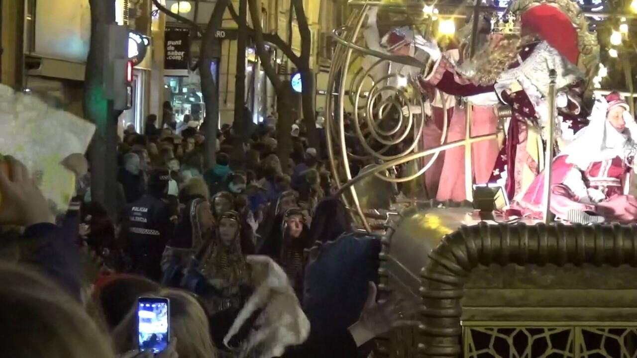 La cabalgata de los Reyes Magos en vídeo