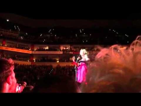 Madonna dio un concierto borracha y ofendió a sus fans
