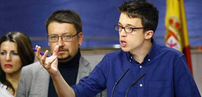 Íñigo Errejón, secretario Político y número dos de Podemos,  se expresó con dureza afirmando que el PSOE ya ha elegido a Ciudadanos.