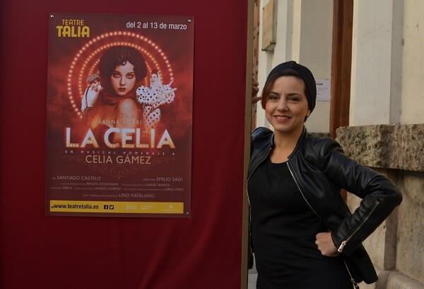 'La Celia' trae al Talía todo un homenaje a la gran Celia Gámez.