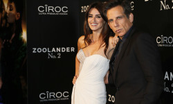 MADRID, SPAIN - FEBRUARY 1: Penelope Cruz and Ben Stiller attends the Madrid Fan Screening of the Paramount Pictures film 'Zoolander No. 2' at the Capitol Theater on February 1, 2016 in Madrid, Spain. (Photo by Carlos Alvarez/Getty Images for Paramount Pictures) *** Local Caption *** Penelope Cruz; Ben Stiller