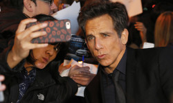 MADRID, SPAIN - FEBRUARY 01:  Ben Stiller attends the Madrid Fan Screening of the Paramount Pictures film 'Zoolander No. 2' at the Capitol Theater on February 1, 2016 in Madrid, Spain.  (Photo by Carlos Alvarez/Getty Images) *** Local Caption *** Ben Stiller