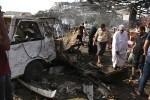 Al menos 30 muertos en Bagdad producidas por dos explosiones.