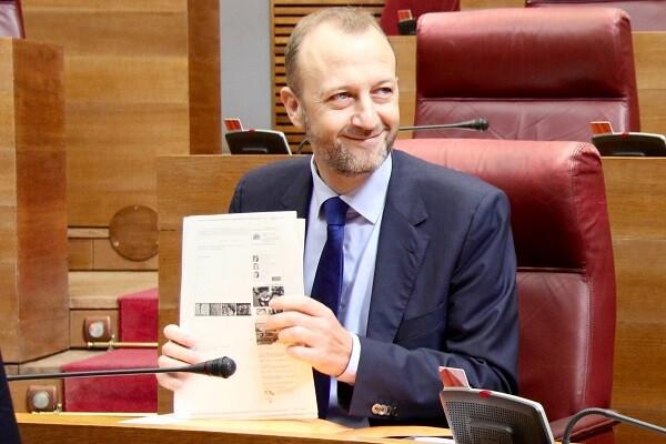 Alexis Marí (C's) lamenta que Puig no se atreva a vaciar de contenido las diputaciones.