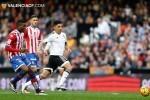 Amarga derrota del Valencia CF frente al Sporting de Gijón (0-1). (Foto-Lázaro de la Peña).
