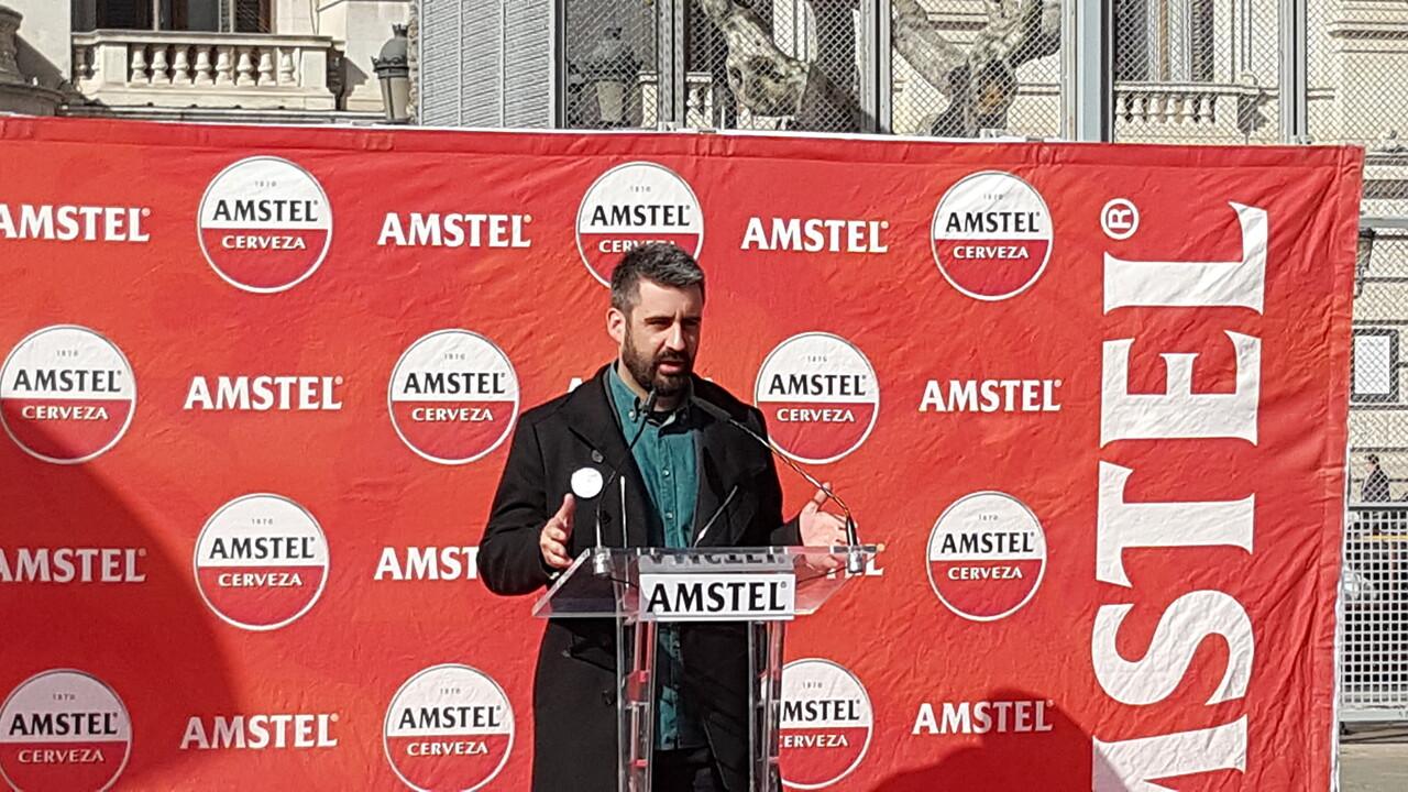 Amstel con las Fallas 2016 primera mascletá el 29 , patrimonio inmaterial (34)