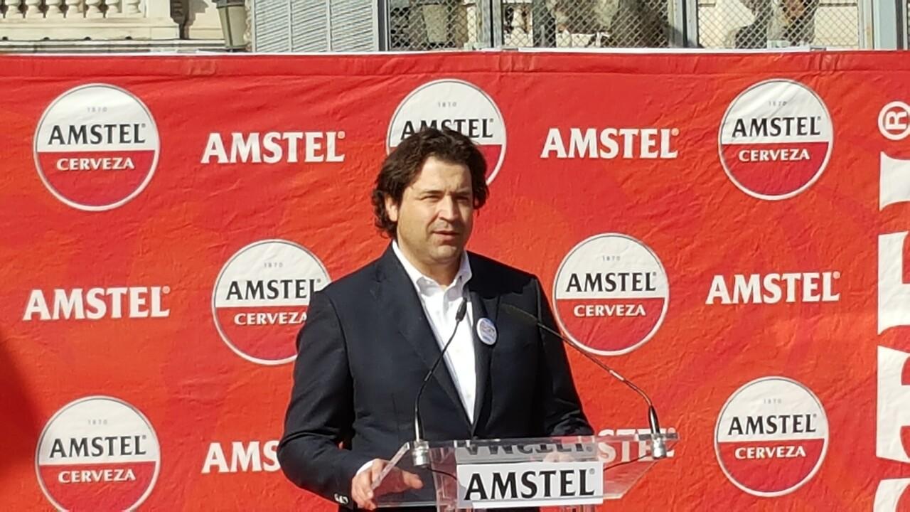 Amstel con las Fallas 2016 primera mascletá el 29 , patrimonio inmaterial (39)