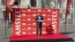 Amstel con las Fallas 2016 primera mascletá el 29 , patrimonio inmaterial (49)