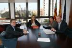 Briones treballa amb l'Ajuntament de València en el Pacte Territorial per l'Ocupació d'aquesta ciutat