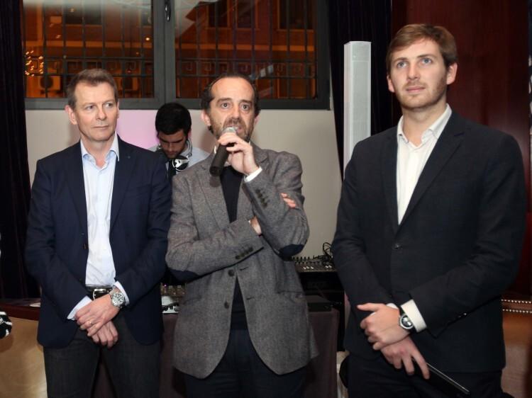 Christian Jardel, Paco Valls y Johnatan Martin de Bierwinkel
