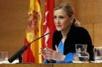 Cifuentes asegura que estará por compromiso al frente de la gestora del PP de Madrid.