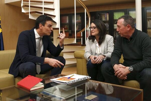 """Compromís """"El Pacte del Botànic son los fueros que Pedro Sánchez tendrá que jurar para conseguir el apoyo de Compromís."""