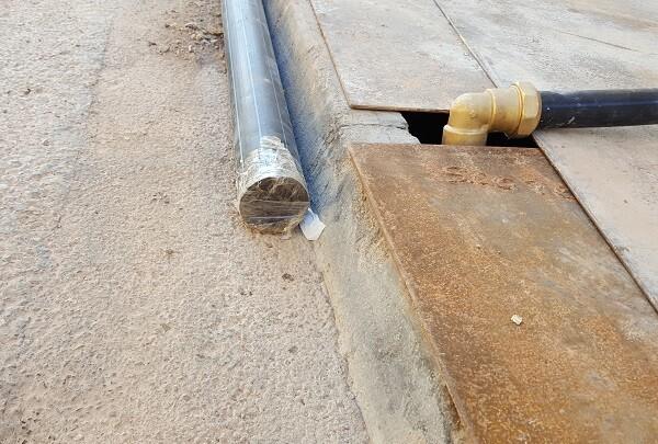 Concluyen las obras de ampliación de distribución de agua potable en Borbotó.