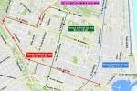 Cortes de tráfico y supresión de líneas de autobús el domingo con motivo de la 15K Abierta al Mar.