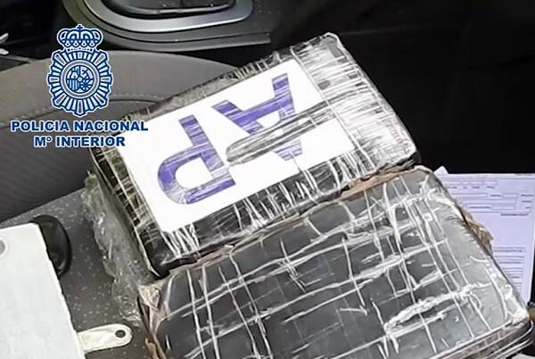 Detenido un grupo que introducía importantes cantidades de cocaína en la Comunidad Valenciana y en Murcia.