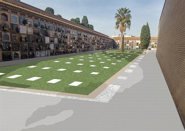 El Ayuntamiento acometerá una actuación para acondicianar la zona de fosas del cementerio de El Cabanyal.