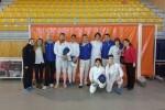 El Esgrima Marítim domina en el Campeonato Autonómico Junior a espada con dos títulos de Campeón, un subcampeonato y tres bronces.