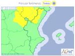 El Tiempo. Avisos meteorológicos  Comunitat Valenciana   Hoy   Mapa   Agencia Estatal de Meteorología   AEMET. Gobierno de España